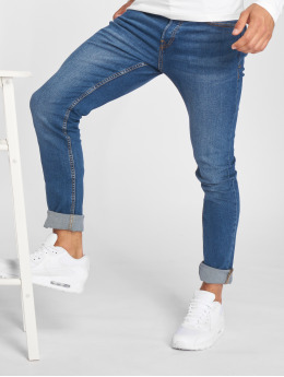 Jack & Jones Slim Fit Jeans jiGlenn jjOriginal NZ 005 синий