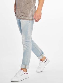 Jack & Jones Slim Fit Jeans jjiGlenn jjOriginal Am 916  синий