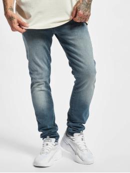 Jack & Jones Slim Fit Jeans Jjiglenn Jjfox синий