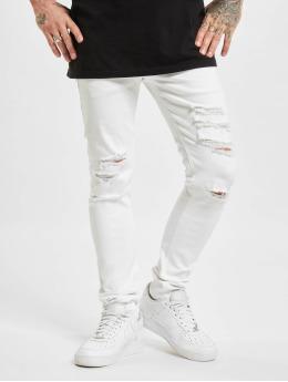 Jack & Jones Slim Fit Jeans JJ I Liam JJ Original NA 405  biela