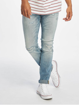 Jack & Jones Slim Fit Jeans jjiGlenn jjOriginal blå