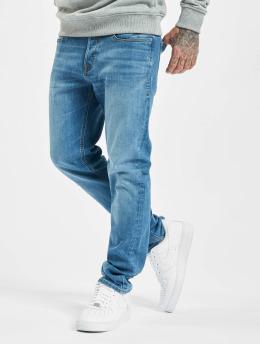 Jack & Jones Slim Fit Jeans jjiTim jjOriginal 815  modrá