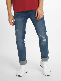Jack & Jones Slim Fit Jeans jjiGlenn jjFox modrá