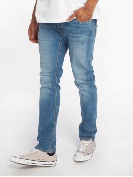 Jack & Jones Slim Fit Jeans jjiGlenn  modrá