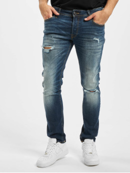 Jack & Jones Slim Fit Jeans jjiGlenn jjOriginal GE 141 50SPS modrá