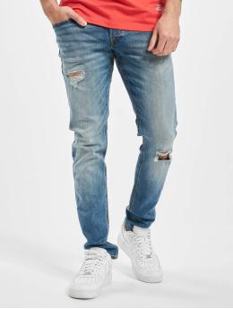 Jack & Jones Slim Fit Jeans jjiGlenn jjOriginal GE 142 50SPS modrá