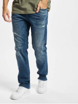 Jack & Jones Slim Fit Jeans Jjimike Jjoriginal modrá