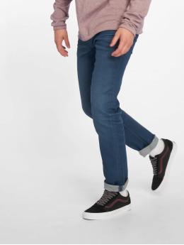 Jack & Jones Slim Fit Jeans jjiTim jjOriginal modrý