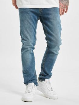 Jack & Jones Slim Fit Jeans jjiGlenn jjOriginal NA 033 modrý