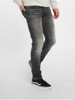 Jack & Jones Slim Fit Jeans jjiGlenn jjOriginal schwarz