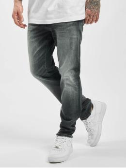 Jack & Jones Slim Fit Jeans jjiTim jjiCon jj 171 Noos sort