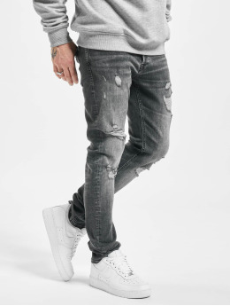 Jack & Jones Slim Fit Jeans jjiGlenn jjOriginal JJ 056 50sps  zwart