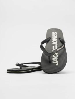Jack & Jones Slipper/Sandaal jfwLogo Pack 1 grijs