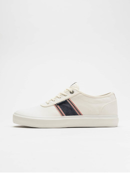 Jack & Jones sneaker JfwAustin Denim Stripe wit