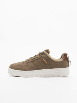 Jack & Jones Sneakers jfwMaverick Lo Synth brazowy