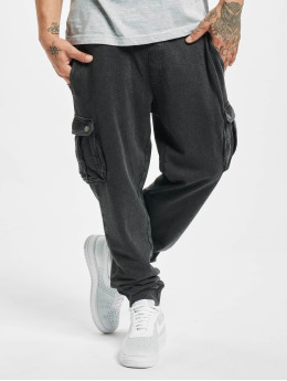 Jack & Jones Spodnie do joggingu jjiGordon Lee VIY czarny