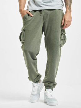 Jack & Jones Spodnie do joggingu jjiGordon Lee VIY oliwkowy