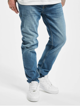 Jack & Jones Straight Fit Jeans jjiMike jjOriginal CJ 928 blå