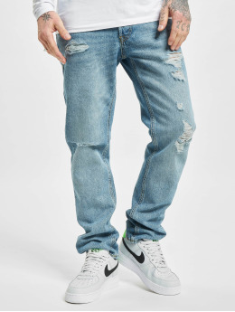 Jack & Jones Straight Fit Jeans jjiMike jjOriginal Am 764 blau