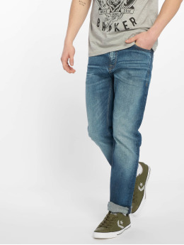 Jack & Jones Straight Fit Jeans jjiClark jjOriginal modrý
