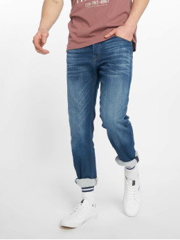 Jack & Jones Straight Fit Jeans  jjiMike jjOriginal modrý