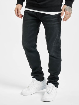 Jack & Jones Straight fit jeans jjiMike jjOriginal zwart