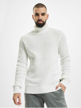 Jack & Jones Svetry jjDesparado Knit Pack bílý