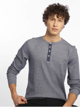 Jack & Jones Svetry jjeGiovanni Granddad indigo