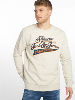 Jack & Jones Sweat & Pull jjeLogo beige
