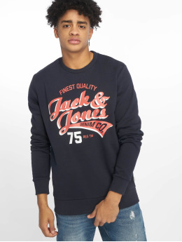 Jack & Jones Sweat & Pull jjeLogo bleu