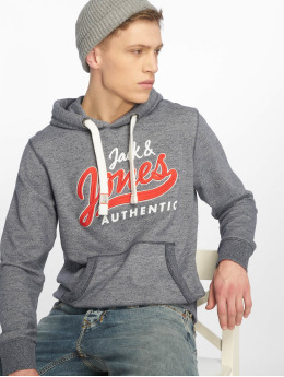 Jack & Jones Sweat capuche Jorvarcity bleu