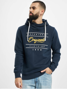 Jack & Jones Sweat capuche jorStationary  bleu