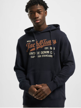 Jack & Jones Sweat capuche jprBlubilly Autumn bleu