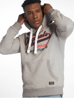 Jack & Jones Sweat capuche jorVarcity gris