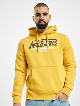 Jack & Jones Sweat capuche jjeLogo Noos Sweat jaune