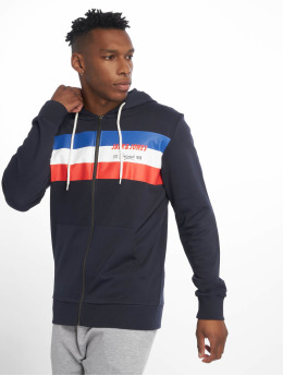 Jack & Jones Sweat capuche zippé jorShakedowns bleu