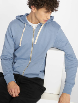 Jack & Jones Sweat capuche zippé jjeHolmen bleu