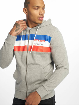 Jack & Jones Sweat capuche zippé jorShakedowns gris