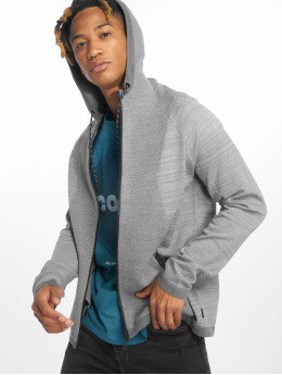 Jack & Jones Sweat capuche zippé jcoEric gris