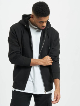 Jack & Jones Sweat capuche zippé jjeSoft noir
