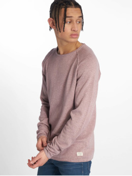 Jack & Jones Swetry jjeUnion Knit fioletowy