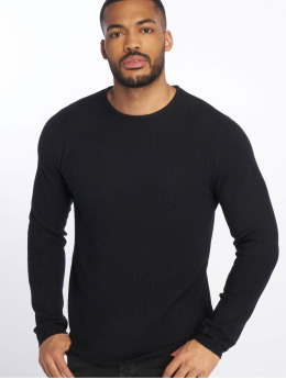 Jack & Jones Swetry jjeRon Knit niebieski