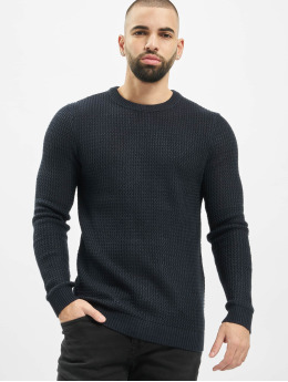 Jack & Jones Swetry jorFlow niebieski