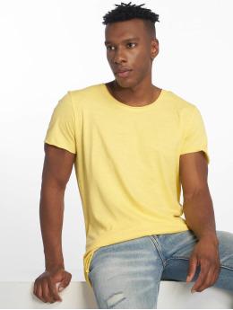 Jack & Jones T-paidat jjeBas keltainen