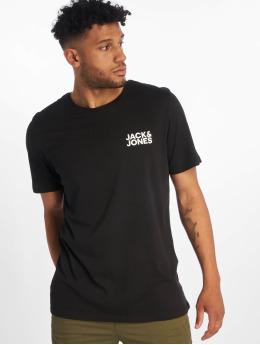 Jack & Jones T-paidat jjeCorp Logo musta