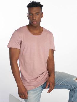 Jack & Jones T-paidat jjeBas purpuranpunainen