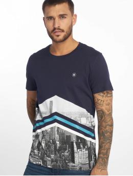 Jack & Jones T-paidat jcoOval sininen