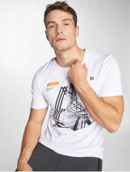Jack & Jones T-paidat jcoDimensions valkoinen