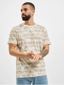 Jack & Jones T-paidat JPR Bludust Placement Stripe valkoinen