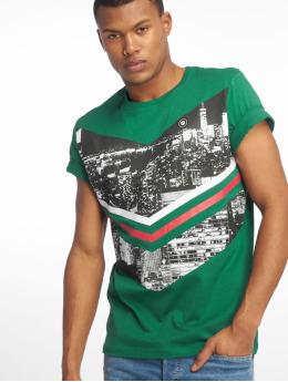 Jack & Jones T-paidat jcoOval vihreä